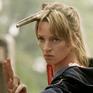 Kill Bill 2 Beatrix Kiddo entrenando