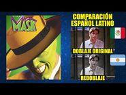 La Máscara -1994- Comparación del Doblaje Latino Original y Redoblaje - Español Latino