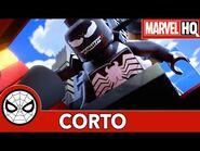 Motocicletas y Mochachinos - Lego Marvel Spider-Man- Perseguido por Venom