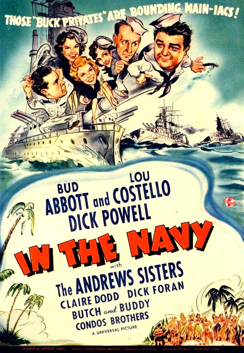 Abbott y Costello: Marineros mareados