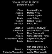 Créditos doblaje Proyecto Héroes de Marvel (ep. 2)