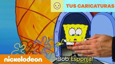 Lyric video canción de Bob Esponja Latinoamérica Nickelodeon en Español