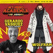 My Hero Academia - Dos Héroes (Actores presentados 05)