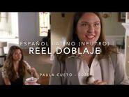 REEL DOBLAJE PAULA CUETO 2020
