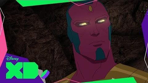 Visión Los Vengadores de Marvel Guerras Secretas
