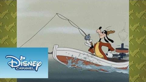 ¡A reír con Mickey! Cómo pescar