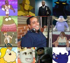 David y algunos de sus personajes.jpg