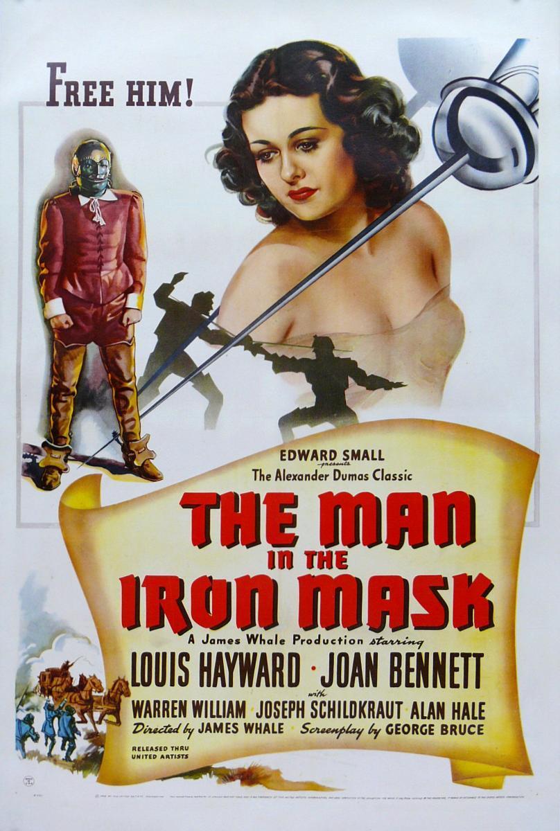 El hombre de la máscara de hierro (1939)