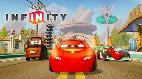 CARS RAYO MCQUEEN en Español - Juegos de Dibujos y Caricaturas para Niños - Disney Infinity 1