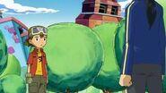 Takuya se entera que Kouji es hijo unico - Latino