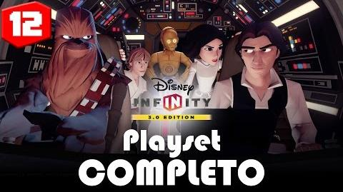 Vader Vs Vader Playset COMPLETO EP 12 Disney Infinity 3 8BitCR