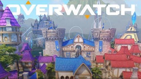 Blizzard World Nuevo mapa híbrido Overwatch