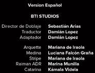 Créditos de doblaje de Black Mirror T03E05 (Netflix)