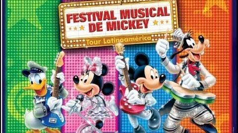 Disney Live! Festival Musical de Mickey en Perú 1