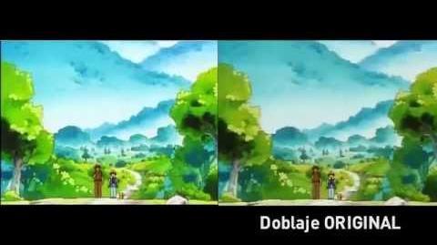 Pokémon - Comparación Doblaje Original vs