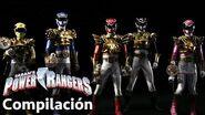Power Rangers en Español Megaforce Rangers y Gosei