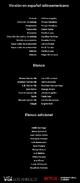 Créditos doblaje Selena La serie (temp. 1 ep. 6)