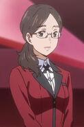 Kakegurui anime episode 1 Saori profile image