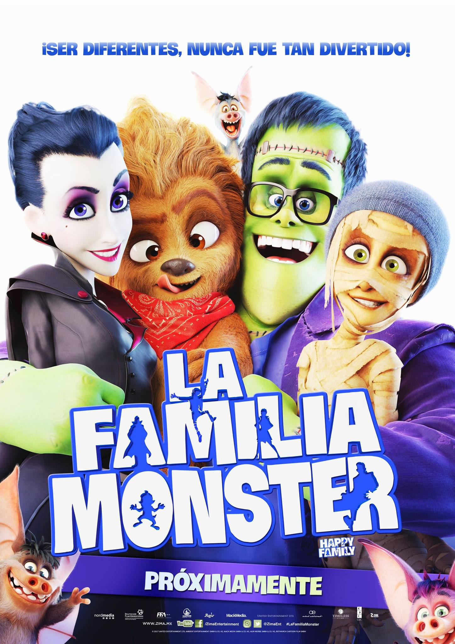 La familia Monster