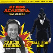 My Hero Academia - Dos Héroes (Actores presentados 15)