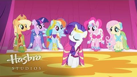 My Little Pony La Magia de la Amistad - Conoce a Rarity