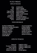 Yoelraquel Creditos DVD
