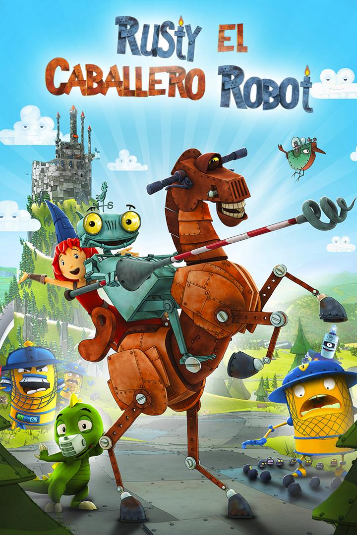 Rusty el caballero robot