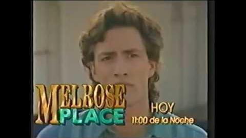 Comercial Melrose Place Megavisión Chile Junio 1994