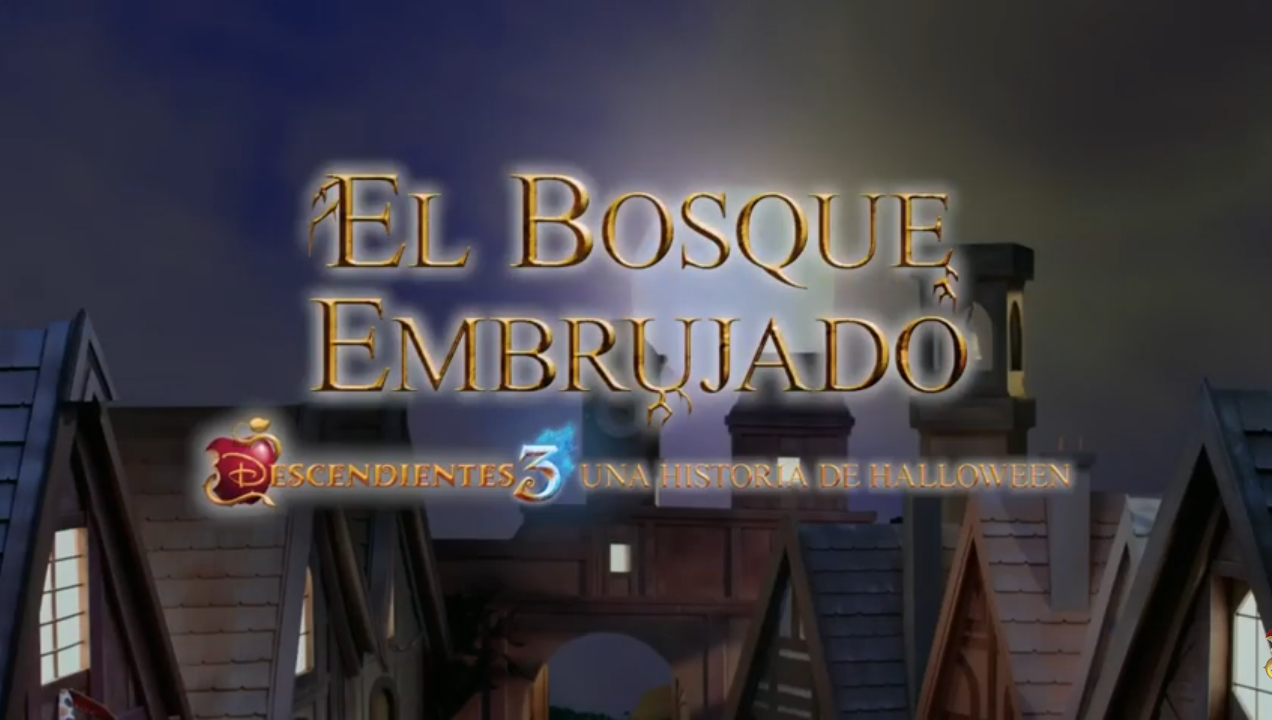 El bosque embrujado: Descendientes 3: Una historia de Halloween