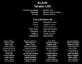 KLAUS Credits