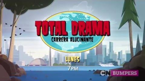 """Cartoon Network LA """"Total Drama Carrera Alucinante"""" Promo - Estreno"""