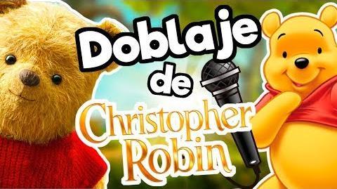 El doblaje latino de Winnie Pooh 2018 (Christopher Robin) Memo Aponte