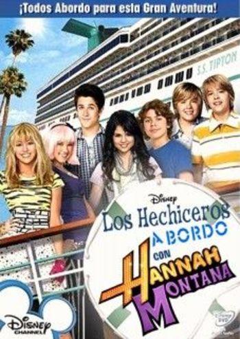 Hechiceros a bordo con Hannah Montana