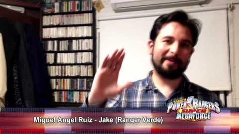 Super Megaforce Doblaje Batalla Legendaria Miguel Ángel Ruiz Jake