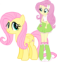 Fluttershy and fluttershy by vector brony-d6mfq41