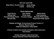 Créditos de doblaje del Corto promocional 5 de Spider-Man de Marvel (DL)