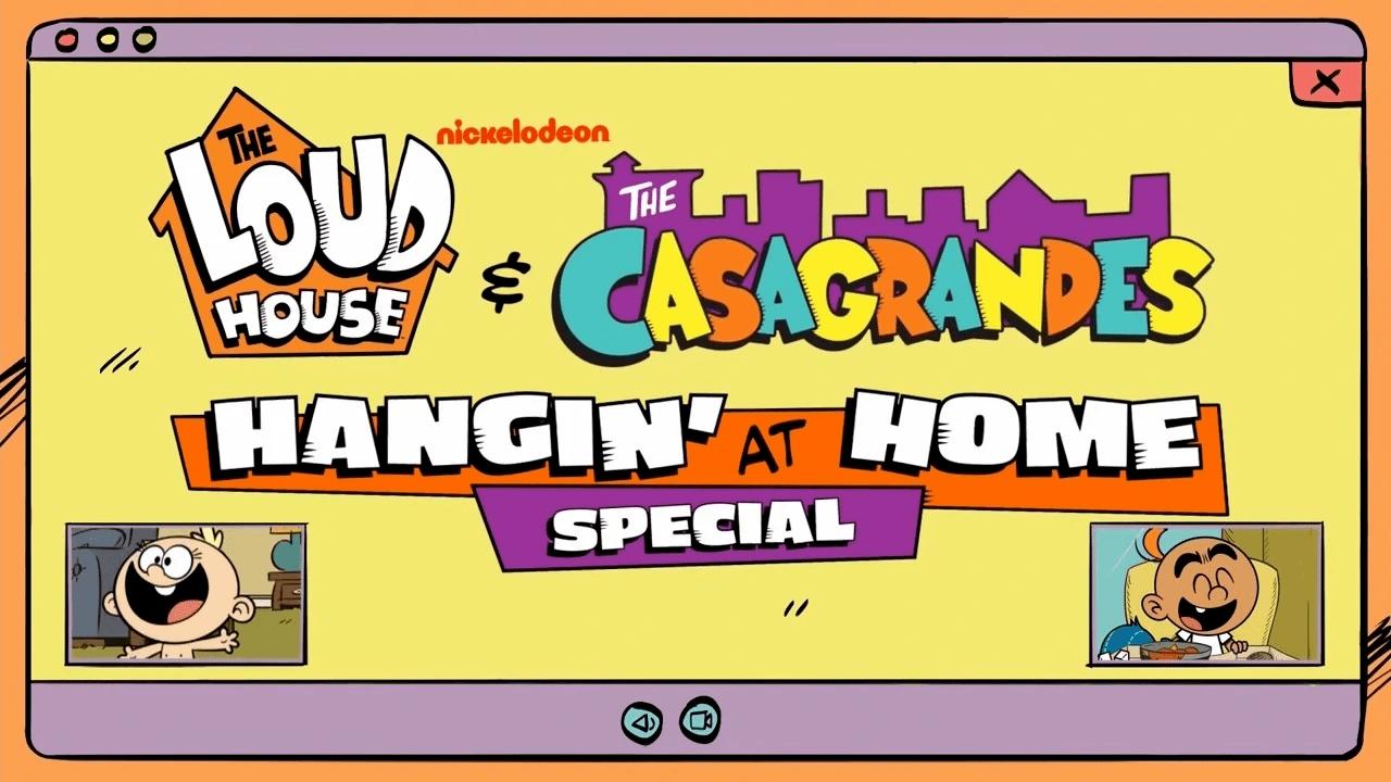 Quédate en casa con The Loud House y Los Casagrande