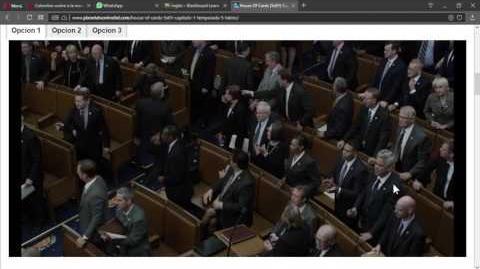 HoC Underwood en el Congreso Latino