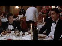 Scarface (1983)- Escena del restaurante (Latino) -- Doblaje mexicano