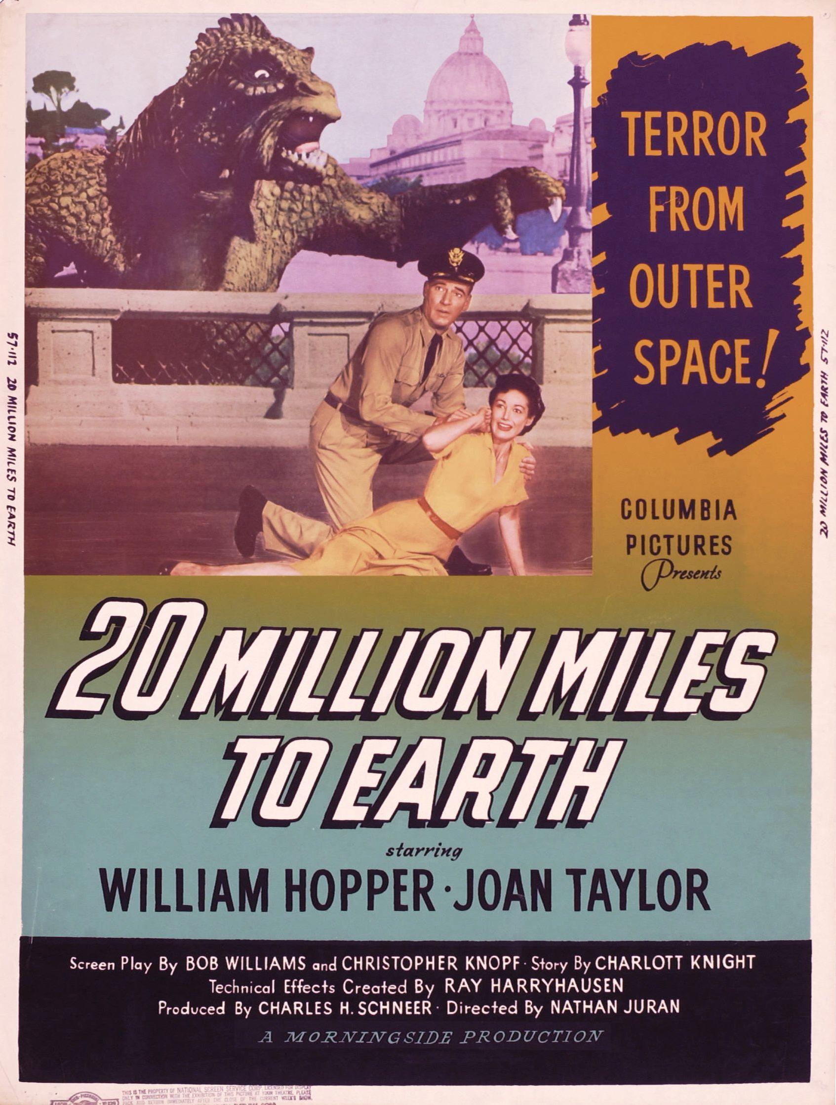 20 millones de millas de la tierra