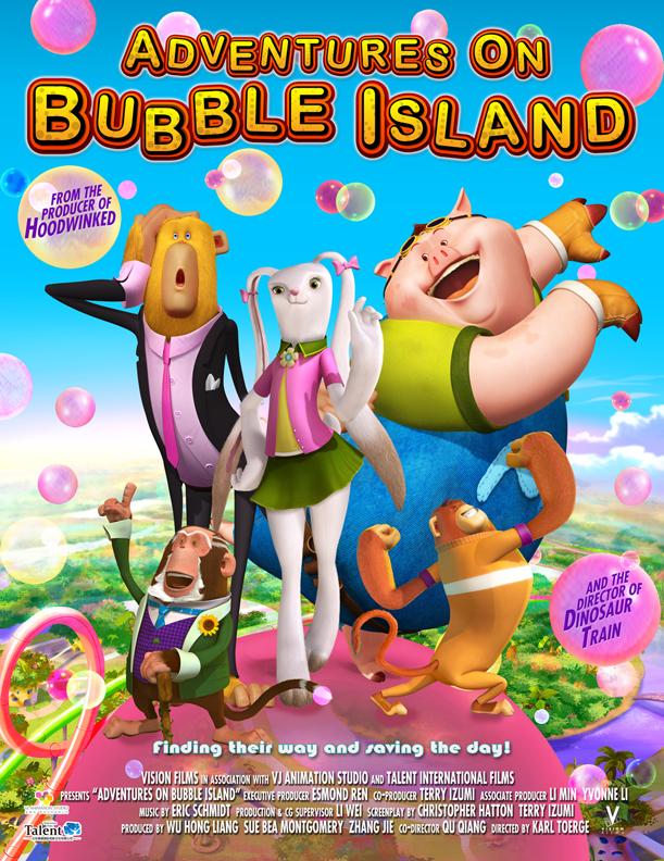 Aventuras en Bubble Island