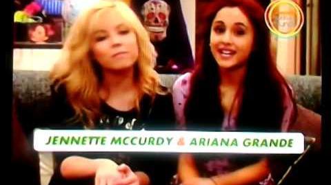 Ayuda a tu Mundo- Jennnette McCurdy & Ariana Grande- Nickelodeon Latinoamérica 2013 viendonick