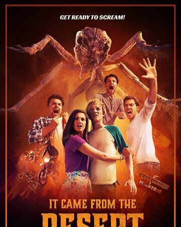 Poster oficial de It Came from the Desert (2017).jpg
