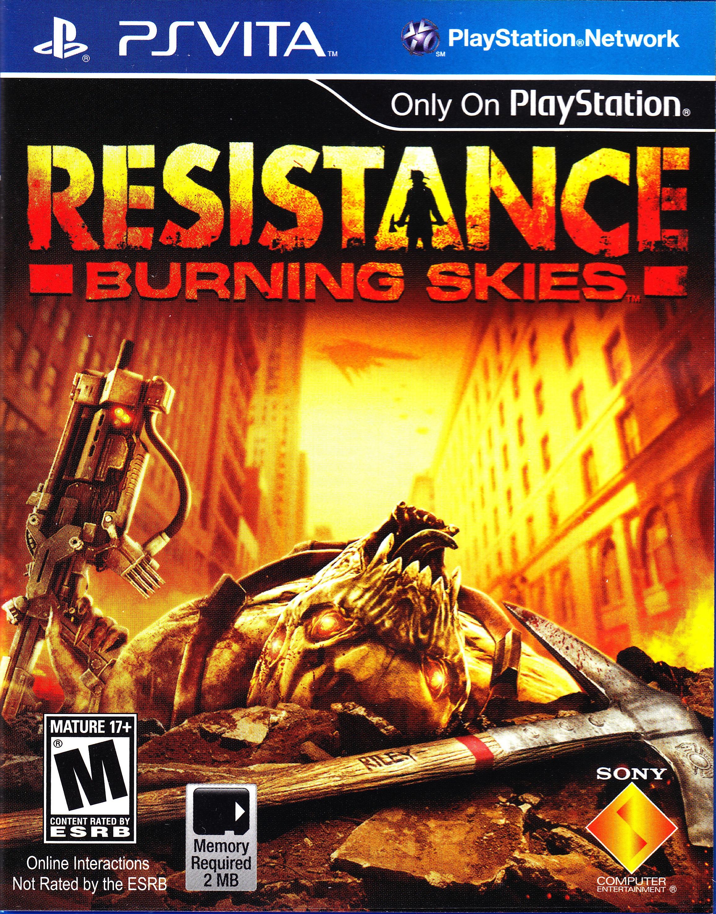 Resistance: Burning Skies