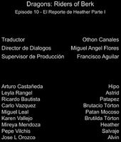 Doblaje Latino de Dragones Jinetes de Berk (Capitulo 10)