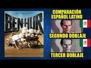 Ben-Hur -1959- Comparación del 2do y 3er Doblaje en Español Latino