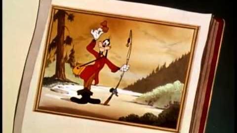 Goofy - Como pescar. Dibujos animados de Disney - espanol latino.