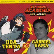 My Hero Academia - Dos Héroes (Actores presentados 09)
