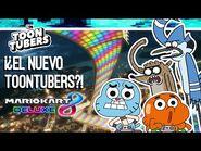 GUMBALL Y DARWIN INTENTANDO ROBAR NUESTRO CANAL??!! CON MARIO KART 8 DELUXE- Cartoon Network