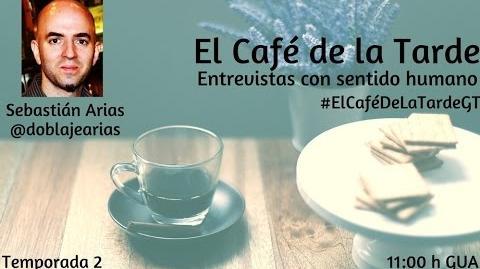 ElCafédelaTardeGT con Sebastián Arias sobre el doblaje en Argentina